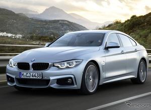 BMW 4シリーズグランクーペ LCIモデル、3月ジュネーブで公開を予告!LEDもリフレッシュ 画像