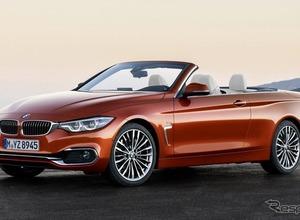 BMW4シリーズ カブリオレLCIモデル、ジュネーブで初お披露目へ! 画像