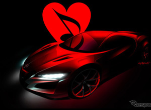 ホンダ NSX 新型にワンオフ、オークションに出品予定 画像