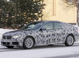 BMW6シリーズGT次期型、テールスライドしまくるスノーテスト【動画】 画像