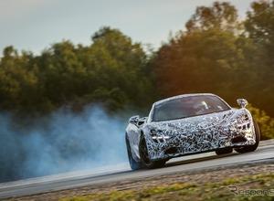 もうすぐ公開!マクラーレン新型スーパーカー、0-200k/h加速7,8,秒のパフォーマンスを公表! 画像