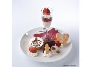 ムーミンハウスカフェ 東京スカイツリータウン・ソラマチ店でいちごのデザートフェア! 画像