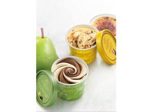 【新作スイーツ】「ゴディバ」のカップアイスに「ダークチョコレート 洋梨」&「クレーム ブリュレ」が登場! 画像