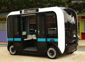 人口知能搭載!3Dプリンター製の自動運転バス『Olli』が自動車の未来を変える 画像