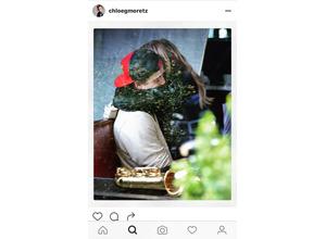 クロエ・グレース・モレッツ、Bベッカムとラブラブ画像をインスタグラムに 画像