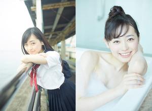 福原遥、セカンド写真集はセーラー服から水着まで! 画像