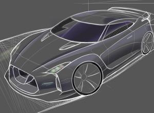 日産 GT-R 次世代型は、650馬力Rハイブリッド!?東京五輪イヤーに登場か 画像