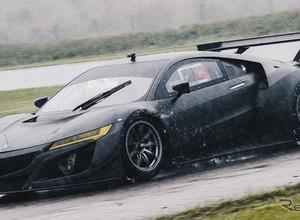 ホンダ NSX GT3、フルカーボンボディで開発テスト 画像