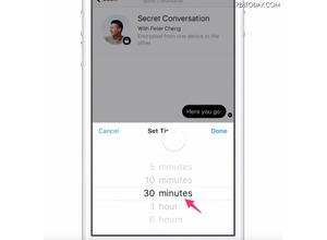 秘密の会話もOK! Facebook Messengerに暗号化機能 画像