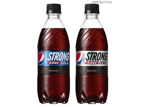 ボトルも最強! ペプシ史上最強炭酸「ペプシストロング5.0GV」 画像