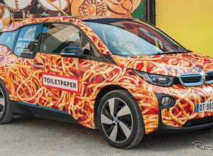 BMW i3 にスパゲッティカー…「アートカーと呼ばないで」 画像