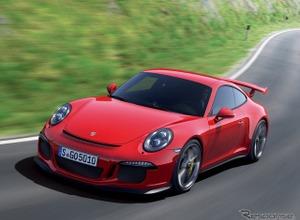 ポルシェ、911 GT3改良新型の画像がリーク!エンジン強化 画像