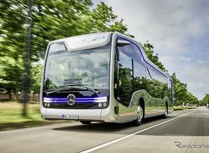 メルセデスの自動運転バスを初公開!20kmを走行テスト 画像