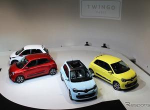 ルノー、今後もトゥインゴ新型に限定車&豊富なバリエーションを投入へ 画像