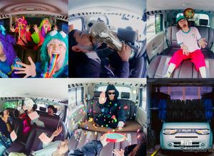 日産キューブを改造!360度撮影カメラ設置で車内を写真スタジオに 画像