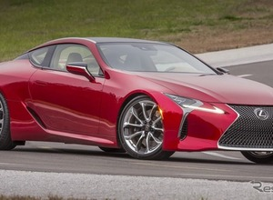 レクサスの新型GT500レースカー、正体は「LCクーペ」か! 画像