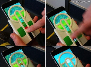 これで百発百中! 「ポケモンGO」のモンスターボールをまっすぐ投げられるiPhone用ケース発売! 画像