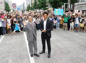 水谷豊&反町隆史『相棒-劇場版IV-』がクランクアップ!3千人のエキストラと共に 画像