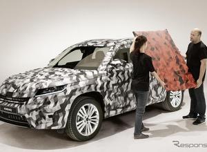 シュコダ、新型SUV「コディアック」をパリモーターショーでワールドプレミアへ 画像