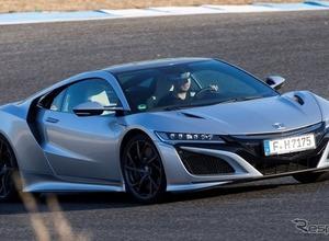 ホンダ NSX 新型、フェラーリ/マクラーレン凌駕する環境性能が明らかに! 画像