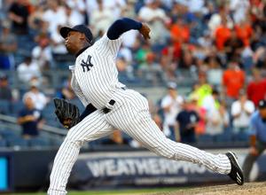 【メジャーリーグ】ヤンキース、161キロ左腕チャプマンを放出!カブスと1対4のトレードが成立 画像