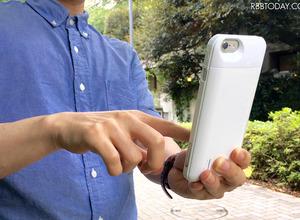 ポケモンGO対策にいかが?大容量のバッテリー内蔵薄型iPhoneケースが登場 画像