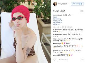 64歳!夏木マリが脅威の美肌をインスタグラムに投稿 画像