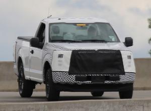 ピックアップ革命だ!フォード F-150改良新型、プラグインハイブリッドを設定か 画像