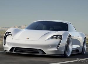 航続距離500km以上...ポルシェ初市販EV「ミッションE」が示すスーパーカーの未来 画像