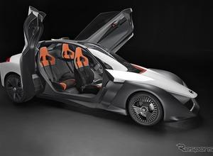 モータースポーツ技術を入魂だ!日産ブレード グライダー、ウィリアムズからEVパワートレイン 画像