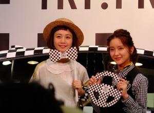 「チェッカープリウス」で渋谷を走る…生田佳那も運転、三戸なつめは後席!? 画像