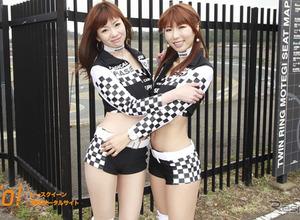 【レースクィーン】スーパー耐久シリーズ『HASEPRO RACING レースクイーン』 画像