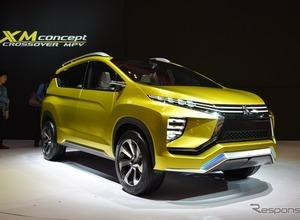 三菱、SUVの新しいカタチを提案!『ミツビシXMコンセプト』世界発公開 画像