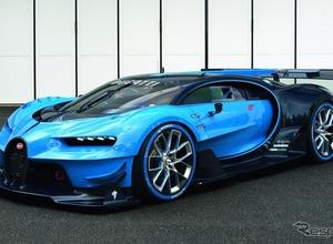 最強スーパーカーの競演!ブガッティ、シロン&ビジョンGTを世界初同時公開  画像