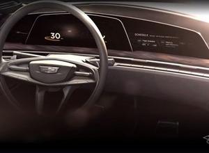 キャディラック、「曲面有機発光ダイオード」搭載の新世代コンセプトカー公開へ 画像