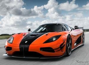 ケーニグセグ「RS」の進化系「XS」、巨大カーボン・ウィング装着で1160馬力だ! 画像