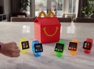 米マクドナルド、腕時計型の活動量計機能付きおもちゃ「Step-It」の提供を開始 画像