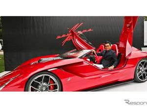 エンツォの再来!? KEN OKUYAMAプレゼンツ、次世代スーパーカー「kode57」初公開 画像