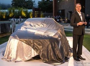 市販も視野に!キャディラックの大型セダン、「エスカーラ」がフルサイズ車を牽引する 画像
