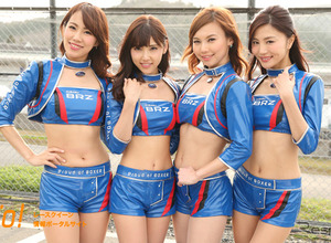 【レースクィーン2016】SUPER GT『SUBARU BRZ GT GALS BREEZE』 画像