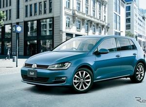 VW ゴルフ 改良新型、画像がリーク! 画像