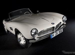エルヴィス・プレスリーが愛したBMW「507」、50年ぶりに復元! 画像