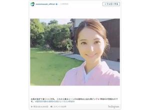 佐々木希、清楚な和服姿を披露…「日本で一番美しい」と反響 画像