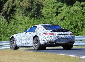 メルセデス AMG GT 「C」ロードスター新型、ニュル高速テストで好タイム! 画像
