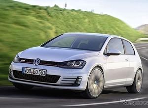 また出た!VWゴルフ改良新型の画像が流出 画像
