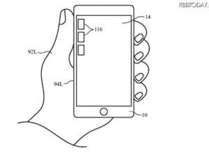 Appleが新たな特許取得!未来のiPhoneは利き腕を認識 画像