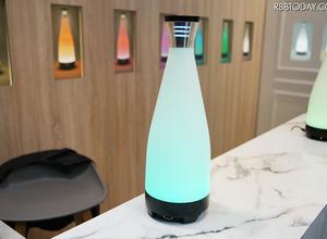 360度カメラ付の光る花瓶!? アメリカのスタートアップが開発中 画像
