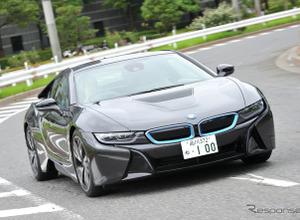 【試乗記】BMW i8、スーパーカーのようでスーパーカーに非ず…中村孝仁 画像