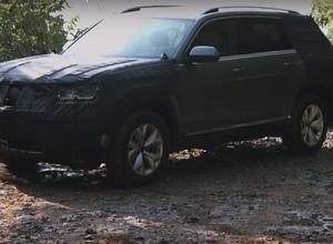 VW、新型SUVプロトタイプ画像を公式リーク 画像