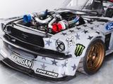 ドリフトの神様・ケン・ブロックの新マシンは1400馬力の最恐マスタング! 画像